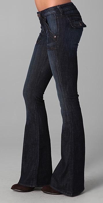 William Rast Lola Flare Flap Jean