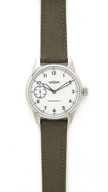 Weiss Watch Co. Standard Issue Field Watch Set