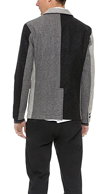 Woolrich Woolen Mills Wool Clem Blazer