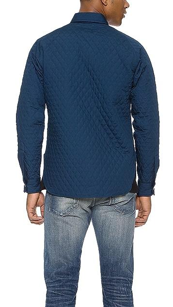 Woolrich Woolen Mills Quilted Raglan Shirt
