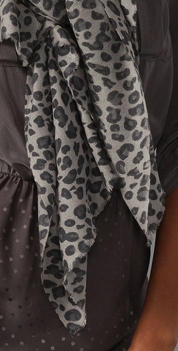 YARNZ Leopard Scarf