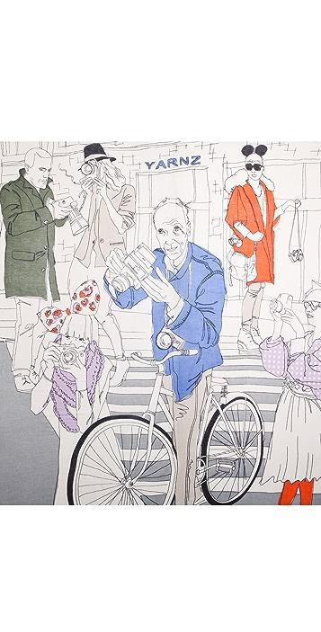 YARNZ Street Fashion Cashmere Scarf