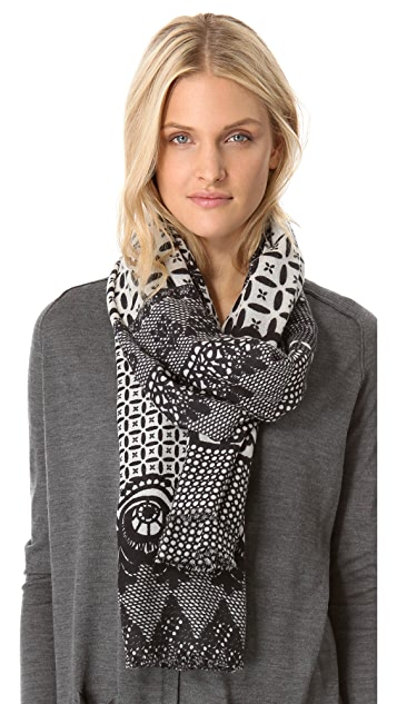 YARNZ Neo Lace Cashmere Scarf