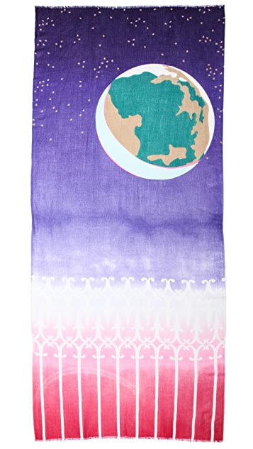 YARNZ Earth & Moon Scarf