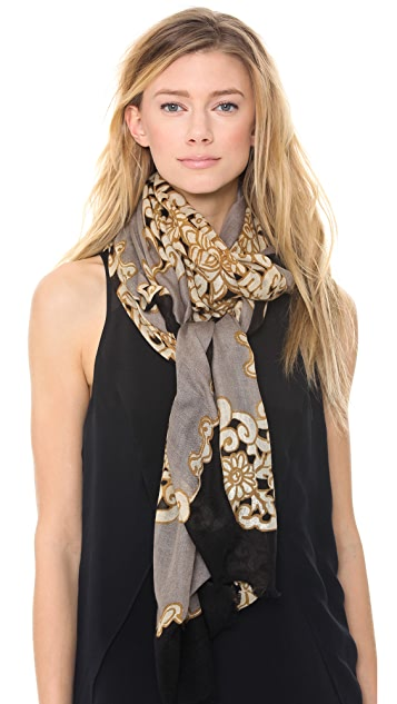 YARNZ Lace Dolly Scarf