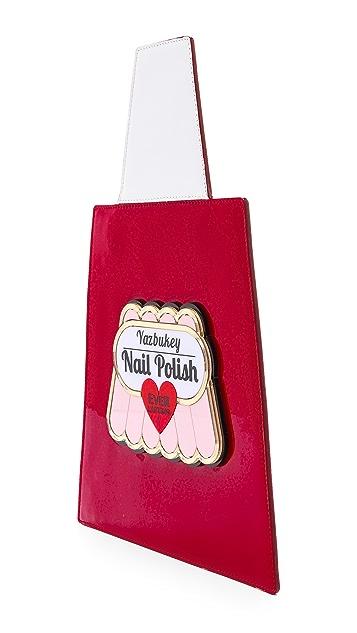 Yazbukey Pamela Belle Patent Nail Polish Clutch