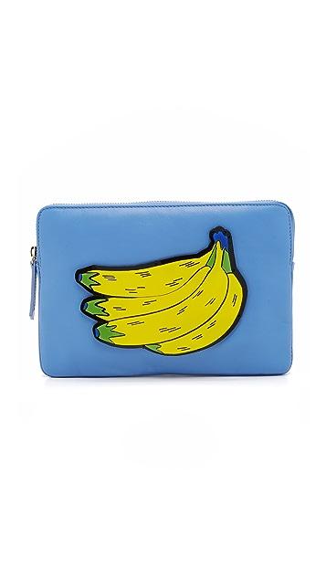 Yazbukey Banana Clutch
