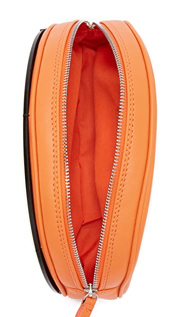 Yazbukey Orange Clutch