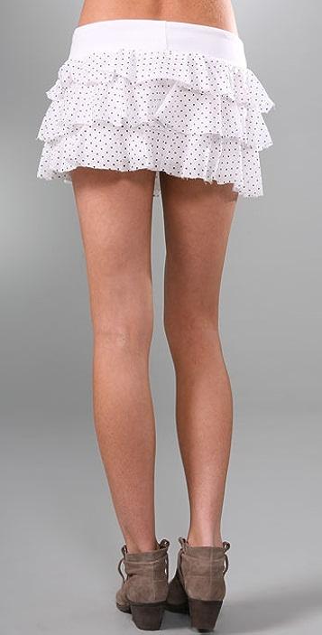 Young Fabulous & Broke RaRa Polka Dot Skirt