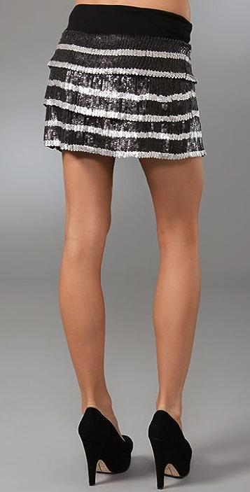 Young Fabulous & Broke Bijou Miniskirt