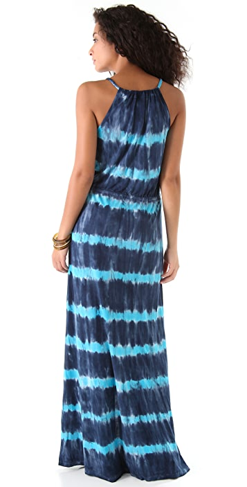 Young Fabulous & Broke Violet Maui Maxi Dress