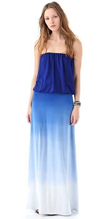 Young Fabulous & Broke Ombre Sydney Strapless Dress