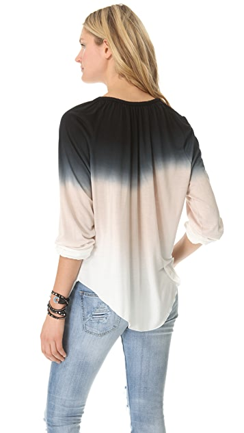 Young Fabulous & Broke Ang Sunset Ombre Top