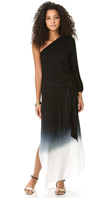 Young Fabulous & Broke Tropique Ombre Maxi Dress