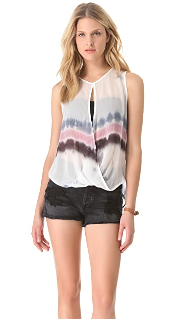 Young Fabulous & Broke Caliente Drizzle Stripe Tank