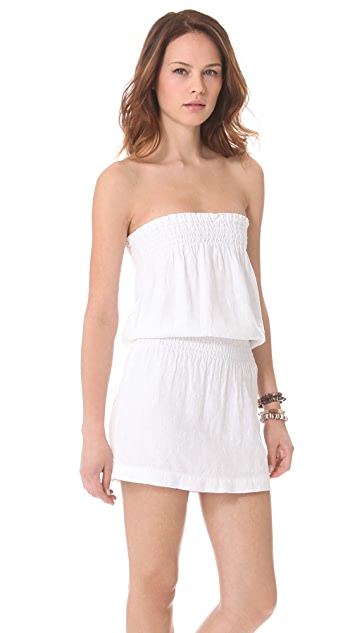 Young Fabulous & Broke Jil Mini Strapless Dress