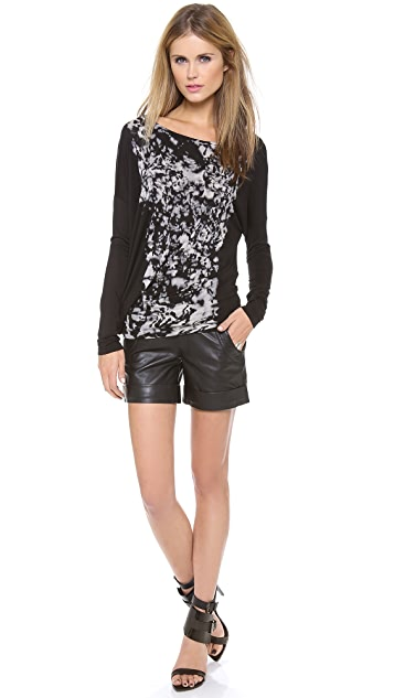 Young Fabulous & Broke Pippa Ink Blot Top