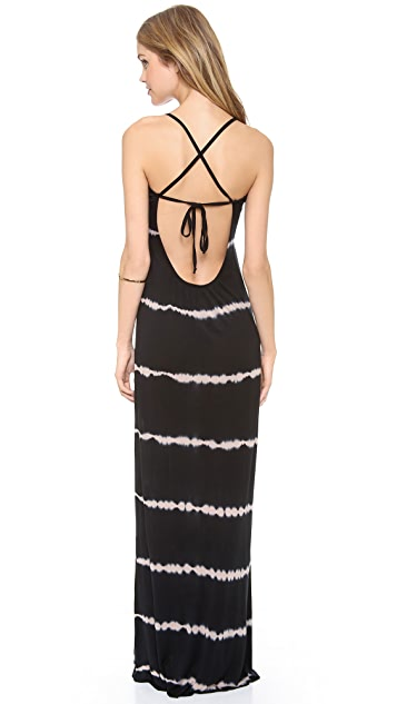 Young Fabulous & Broke Erin Skinny Stripe Maxi Dress
