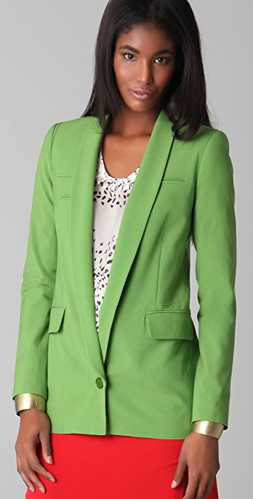 Yigal Azrouel Apple Green Blazer