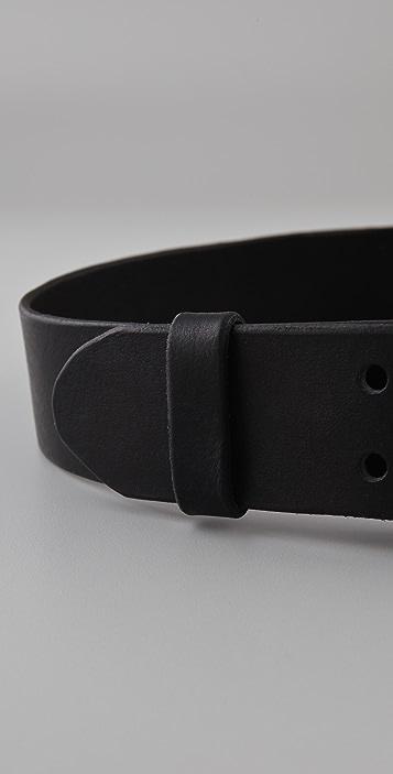 Yigal Azrouel Buckled Belt