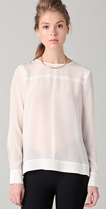 Yigal Azrouel Blouse with Front Seams