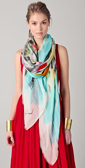 Yigal Azrouel City Scape Scarf