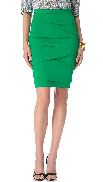 Yigal Azrouel Compact Jersey Skirt