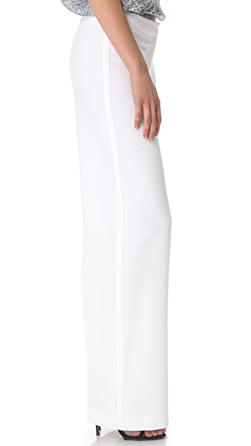 Yigal Azrouel Double Crepe Pants
