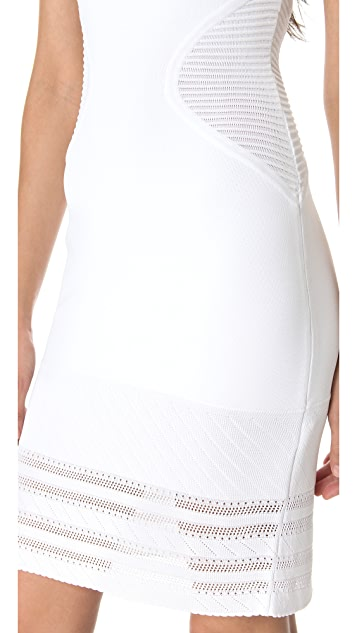 Yigal Azrouel Techno Knit Dress