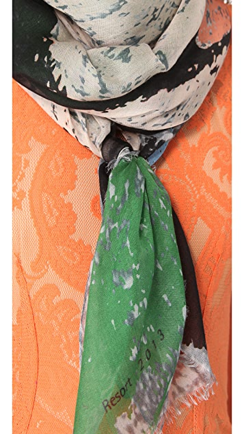 Yigal Azrouel Mystique Print Scarf