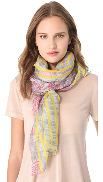 Yigal Azrouel Ikat Print Scarf