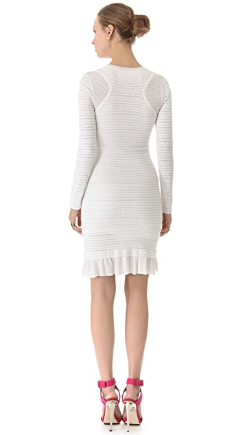 Yigal Azrouel Cotton Knit Dress
