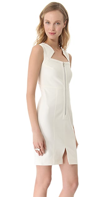 Yigal Azrouel Cotton Tech Dress