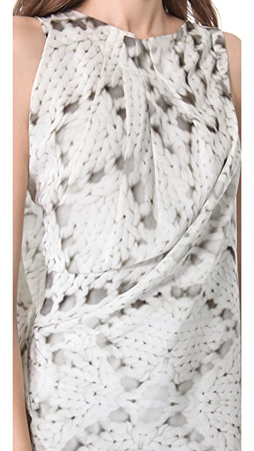 Yigal Azrouel Trompe l'Oeil Cable Dress