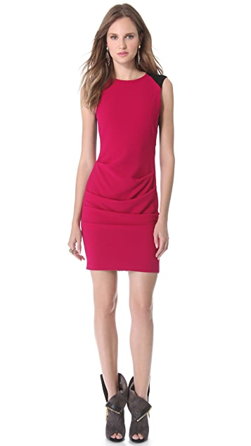 Yigal Azrouel Novelty Crepe Dress