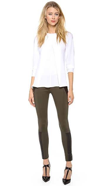 Yigal Azrouel Compact Jersey Pants
