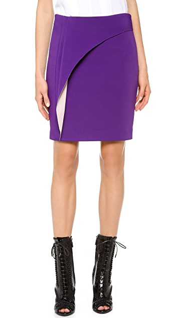 Yigal Azrouel Double Face Stretch Skirt