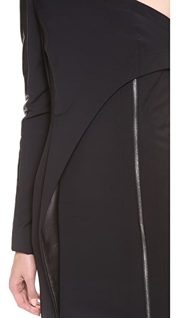 Yigal Azrouel Bi Stretch Tech Gown