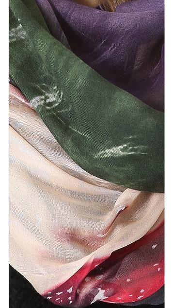 Yigal Azrouel Woman Print Scarf