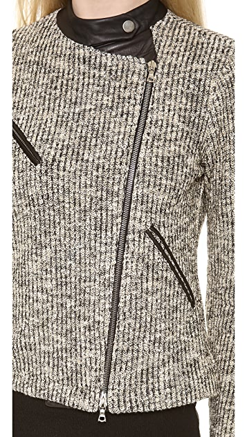 Yigal Azrouel Space Knit Dye Jacket