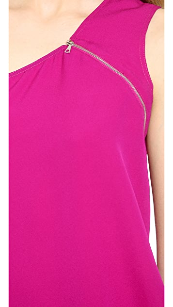 Yigal Azrouel Draped Georgette Top
