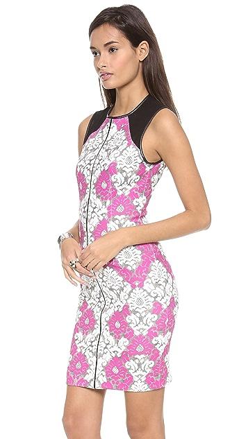 Yigal Azrouel Baroque Scuba Dress