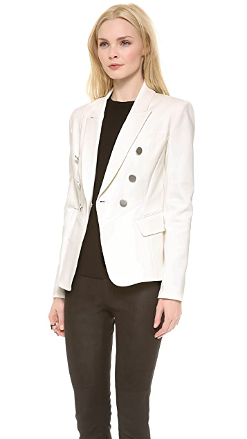 Yigal Azrouel Cotton Tech Jacket
