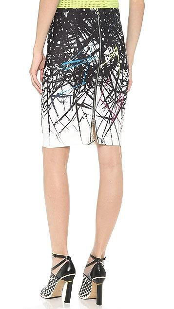 Yigal Azrouel Branch Scuba Skirt