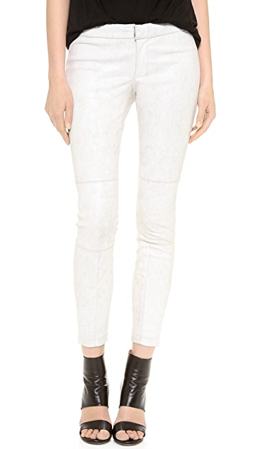 Yigal Azrouel Stretch Leather Leggings