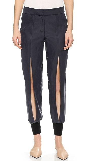 Yigal Azrouel Slit Front Pants