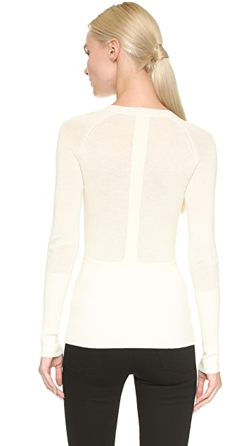 Yigal Azrouel Cutout Shoulder Sweater