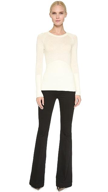 Yigal Azrouel Cutout Shoulder Sweater