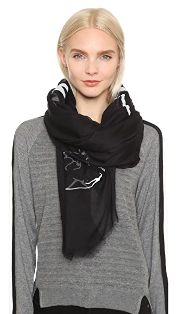 Yigal Azrouel Jaggie Scarf