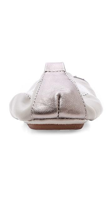 Yosi Samra Studded Cap Toe Flats